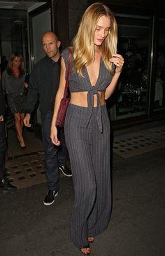 Best Dressed: Rosie Huntington-Whiteley (August 2013)