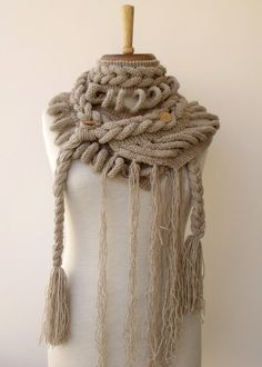 Winter Fashion FREE ShippingNew Rapunzel by knittingshop on Etsy, $70.00