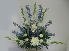 Purple and White Artificial Wedding Flowers