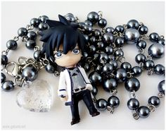 Fairy Tail Rosary Necklace Gray Fullbuster Figure, I MUST MAKE ONE!!!!!