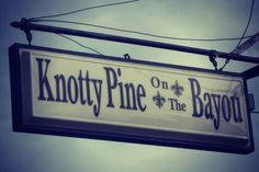 Knotty Pine on the Bayou
