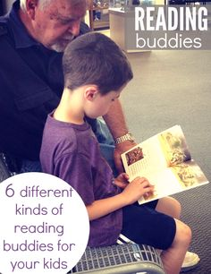 We have 6 reading buddies (beside mom or dad) your kids can practice reading to.