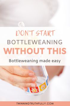 Every mother that bottle feeds dread bottle weaning. If your child has an attachment, it could seem impossible. Lean to bottle wean from any stage. Twin Mom, Twin Babies, Natural Parenting, Parenting Hacks, Weaning From Bottle, Bottle Feeding Breastmilk, Toddler Bottles, Baby Bottle Storage, Bedtime Routine Baby