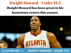 Free Betting Tips - Free Betting Tips - Thousands of free daily betting tips available at Player Line Pro. Have a look at Dwight Howard, who has been great in his hometown return this season and Under 13.5. Howard's usage and field goal attempts are some of the lowest of his career and his post touches have dropped. #NBADailyPicks #NBADailyTips #LineMovement #PlayerLinePro #PlayerLine - Receive Free Betting Tips from Our Pro Tipsters Join Over 76,000 Punters who Receive Daily Tips and ...