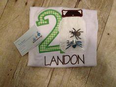 3D Birthday Bug Shirt by DesignsbyApril1234 on Etsy, $22.00