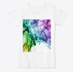 Printed in the USA. Alcohol Ink Art, My Design, Tie Dye, Usa, Printed, Modern, Cotton, Mens Tops, Clothes