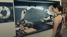 The world's first robotic kitchen is here and it'll blow your mind -> http://mashable.com/2016/08/08/robotic-kitchen-food/   Researchers at Moley Robotics have used motion-capture technology to bring MasterChef champion Tim Anderson's mouth-watering meals to your table hands free.  Read more...  More about Mashable Video Tech Kitchenware Food And Wine and Real Time FOLLOW ON FACEBOOK! https://www.facebook.com/TechNewsTrends/