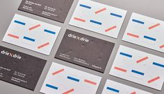 For today's post I want to share a nice visual identity project title driexdrie.