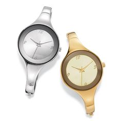 Sleek round faced skinny bangle watch for a minimalist and modern look. One size fits most. Regularly $49.99, buy Avon Jewelry online at http://eseagren.avonrepresentative.com