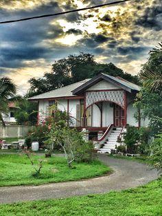 An old Malay house in Arau, Perlis