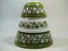 3 Vintage Mixing Bowls