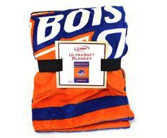 Ultrasoft Blanket With Logo | Boise State Bronco Shop