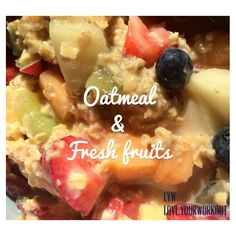 Why should you start eating Oatmeal if you aren't?  1. Rich in Fiber and Protein 2. Keeps you feeling full for longer 3. Quick and easy to make  4. Lowers Cholesterol  5. Stabilises blood sugar and reduces risk of diabetes 6. Delicious  7. Can be easily combined with anything (fruits, nuts, honey + cinnamon, etc..)