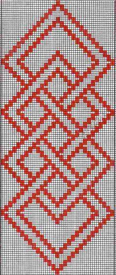 Pattern Charts-Simple Warp Floats
