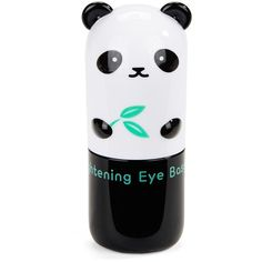 Tony Moly Panda Dream Brightening Eye Base-0.03 oz. (40 BRL) ❤ liked on Polyvore featuring beauty products, makeup, eye makeup, beauty, fillers, fillers - black, panda, no color, brightener makeup and eye brightening makeup