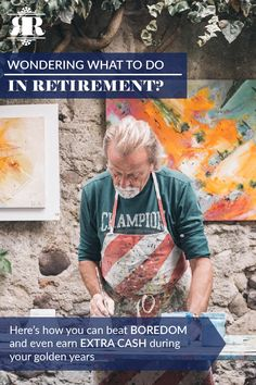 Wondering what to do in retirement? Here's how you can beat boredom and even earn extra cash during your golden years. Retirement Advice, Retirement Age, Retirement Accounts, Saving For Retirement, Retirement Planning, When To Retire, Tired Of Work, Economic Research, Life Satisfaction