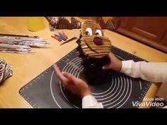 DYS Rentier aus Papierröllchen - YouTube