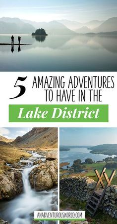 5 Amazing Adventures in the Lake District England - From going on a 'death walk' over a valley to some of the best hiking in the UK here are some amazing adventures you've just got to have in the Lake District. >> Click through to read the full post! Uk And Ie Destinations, Holiday Destinations, Instagram Inspiration, Travel Inspiration, Hadrian's Wall, Seen, English Countryside, Amazing Adventures, Travel Posters