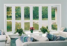 Bay Window Seating, Picture Window Cleveland, Columbus Ohio - Innovate Building Solutions - providing eye level views of the outside from a seated position Wall Design, House Design, Vinyl Replacement Windows, Casement Windows, Window Styles, Design Strategy, Bow Windows, Architecture, Doors