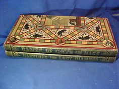 1887 GAME of CATS + MICE Board GAME by Mcloughlin Bros w LOST DIAMOND +GANTLOPE