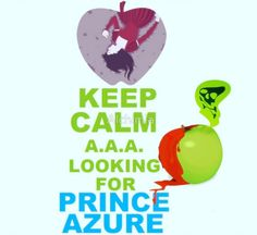 """""""Keep Calm Theory - PRINCE AZURE"""" Posters by Alchimia   Redbubble"""