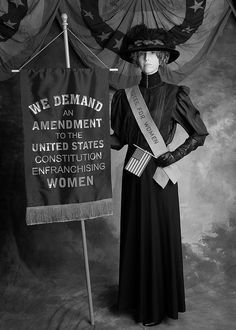 THE VOTE: Suffragette. Many leaders of the movement were upper and upper middle class women. Belle Epoque, Women In History, World History, Great Women, Amazing Women, Women Suffragette, Suffrage Movement, Brave Women, Mode Vintage
