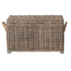 Target Storage Trunk Impressive Wicker Large Storage Trunk  Dark Global Brown  Threshold™  Target