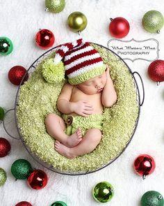 Baby Beanie Hat Newborn Baby Beanie and Diapercover by KnitsDuNord, $36.00