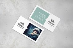 Photographer Minimal Business Card