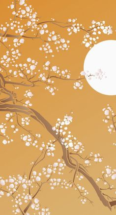 Magnolia Tree Stencil