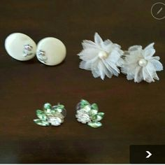 BOGO FREE Large Earrings Lot 3 pairs of earrings all in good condition and size of a quarter or larger. Please feel free to ask questions    All items are buy one and get one of equal or lesser value free Jewelry Earrings