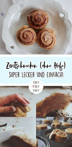 Cinnamon rolls are the perfect soufood on cold rainy days! (without yeast) – Famous Last Words Appetizer Recipes, Snack Recipes, Dessert Recipes, Snacks, Desserts, Fall Recipes, Mexican Food Recipes, Cookie Recipes, Banana Mix
