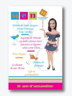 Cocktail 23rd Carte D/'Anniversaire-Femme-Homme-Fille fils-Ami-Adulte