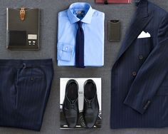 Look sharp at the office with suits, shoes and accessories from POLO. Shop the the style guide: here.