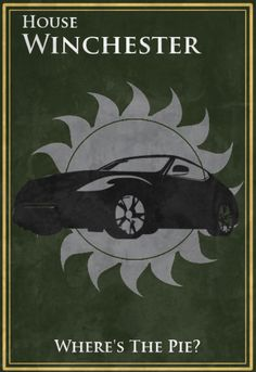 Supernatural/Game of Thrones Posters