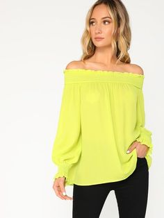 b0a09e7f51a 25 Best Yellow off Shoulder images in 2019