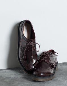 Bershka stamped shoes - Shoes - Bershka Croatia