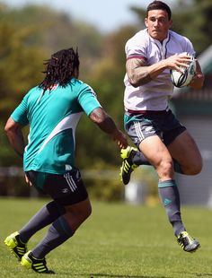 Sonny Bill Williams ... because real men play rugby :)