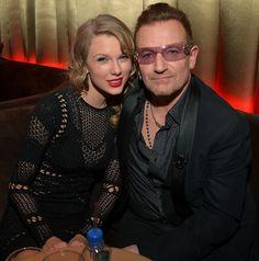 w/Bono - Golden Globe Awards 1/12/14 WAAAAHHHHH!!!!!!!!!!