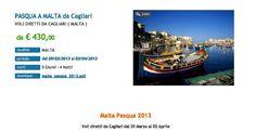 Pasqua a Malta con voli da Cagliari