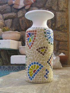 Beautiful #mosaic #vase