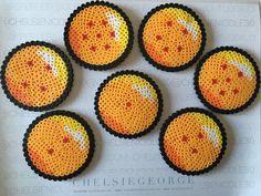 Dragon Ball Z perler beads by chelsienicole30