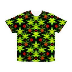 THC ILLUSION Men's All Over Print T-Shirt > ALL OVER PRINT T-SHIRTS AND STUFF > Designs By AlienWear.com Online Store