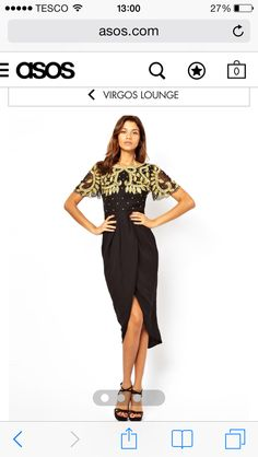 My dress for Hogmanay (if it fits!) - from Virgos Lounge