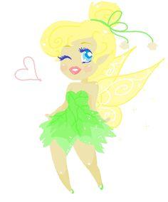 Tink doodle by CicatriceMiki.deviantart.com