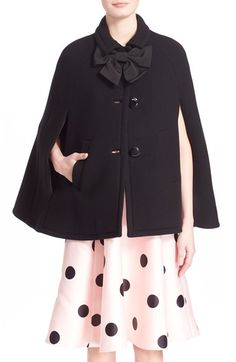 kate spade new york bow capelet available at #Nordstrom