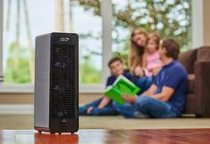 This Ionic Comfort Air Purifier is the new and redesigned version of our bestselling model. It's quiet and efficient, and now available in White or Black!
