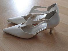 Chaussures / escarpins ivoire de mariage d'occasion T38