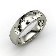 Black Diamond Starry Night ring