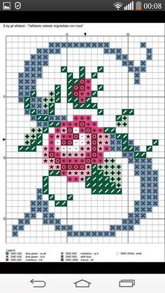 Cross Stitch Quotes, Cross Stitch Letters, Mini Cross Stitch, Knitting Paterns, Knitting Charts, Cross Stitching, Cross Stitch Embroidery, Cross Stitch Designs, Stitch Patterns